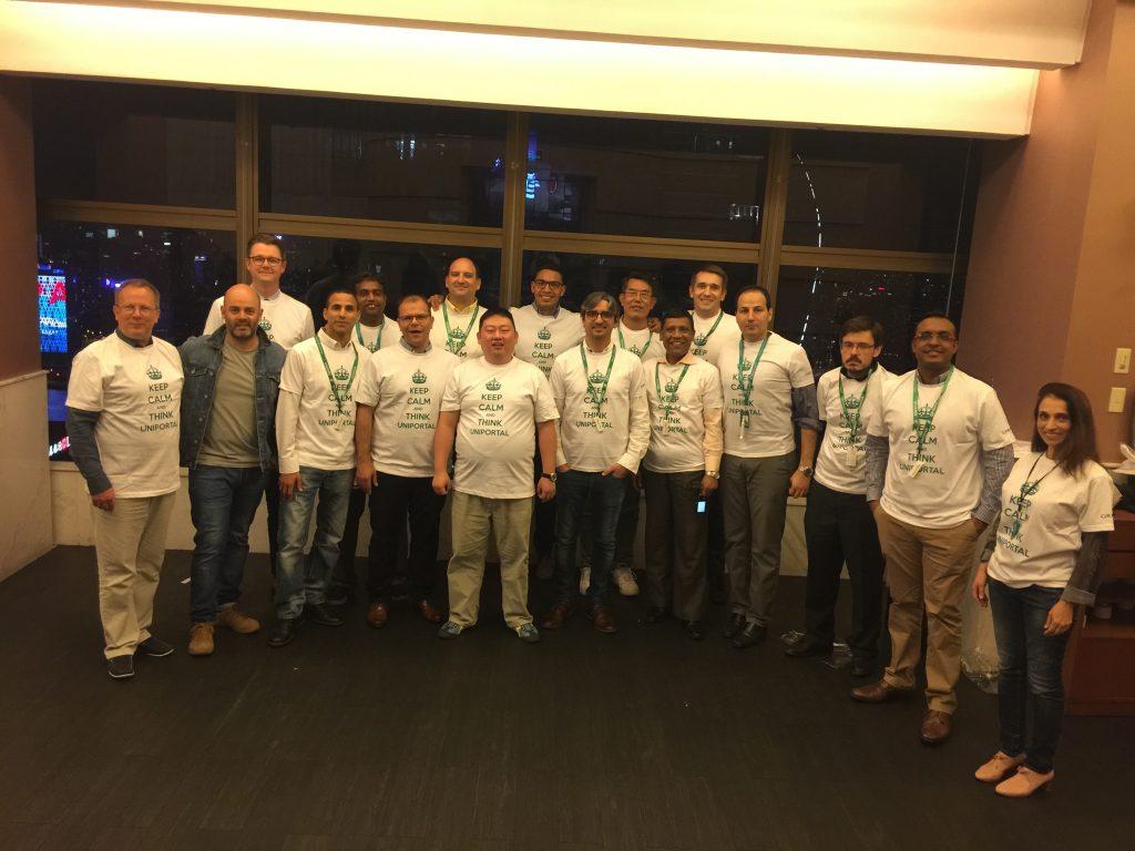 Det var deltagere fra alle verdens hjørner med på vårt kurs.