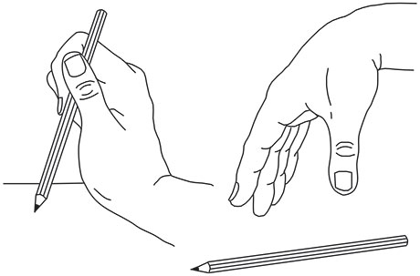 Figur 2. Passivt nøkkelgrep.