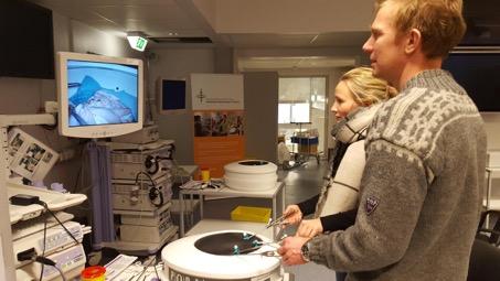 Workshop i standardisert simulatortrening