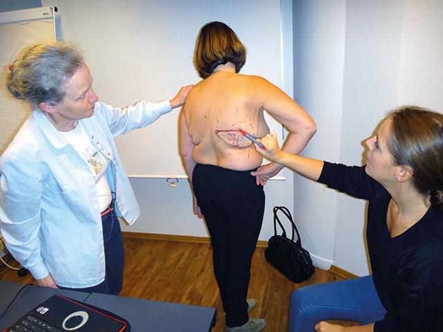 Bilde fra Nordisk Workshop i Oslo (Sept. 2012) med lærer Tiina Jahkola (fra Helsinki), modell og Lisa Steffensen.