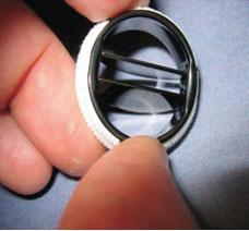 Fig. 2. Mekanisk protese med to lokk