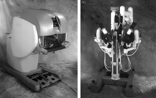 Fig 4. Da Vinci Robot og C-Port distale anastomose system