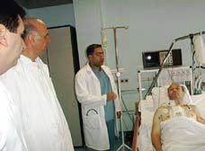 Fig 2. Intensivavdelingen i hjertesenteret i Tuzla, Bosnia og Hercegovina