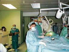 Fig 3. Koronar angiografi laboratorium basert på brukt, rehabilitert utstyr kan redusere investeringene betydelig