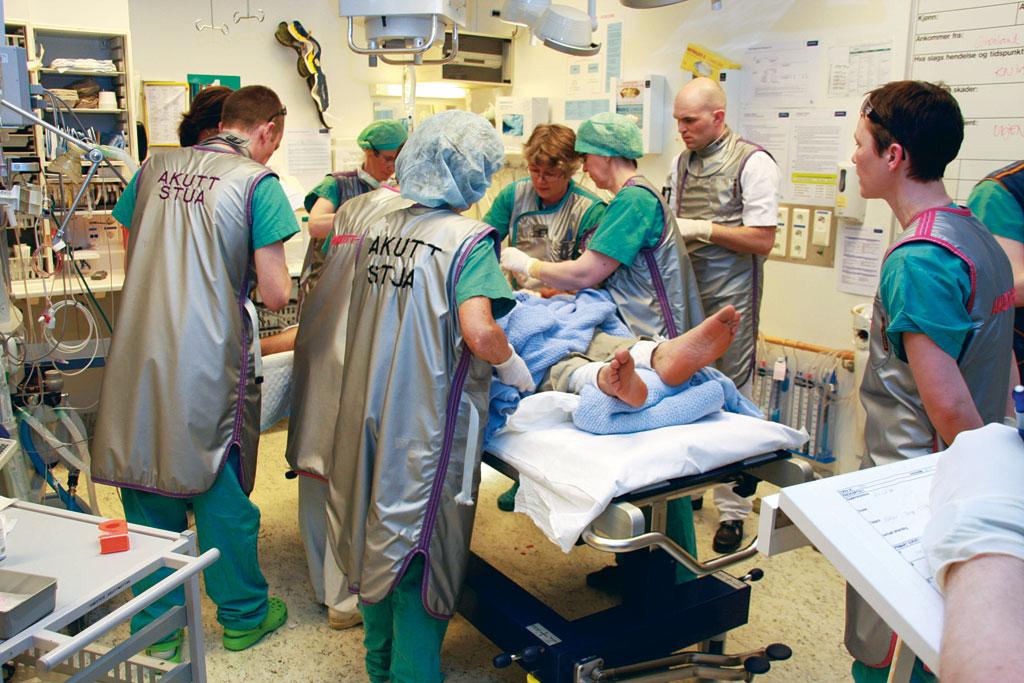 Traumeteamet på OUS. Tverrfaglig tilnærming til traume-pasienten.